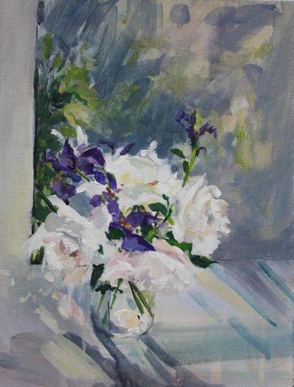 White Rose & Iris