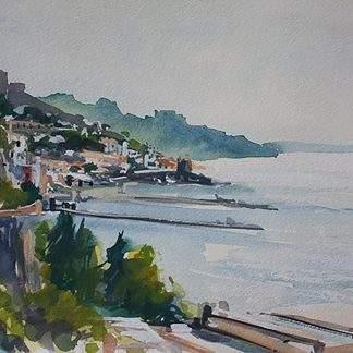 Amalfi Coast Scene