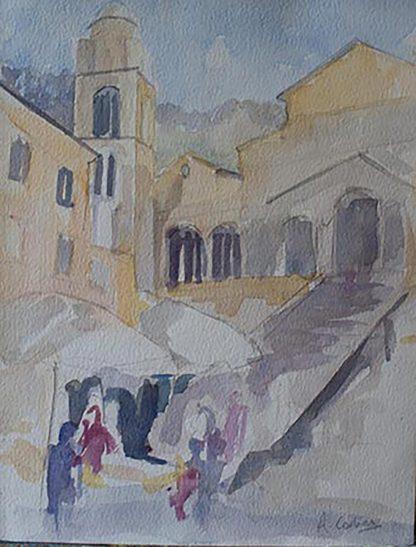 Amalfi Duomo En Plein Air