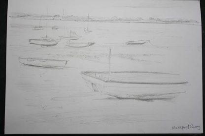 Mudeford Boats Pencil