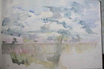 Summer Meadows Watercolour