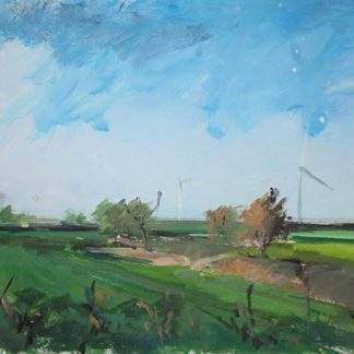 Windfarm 2 Acrylic